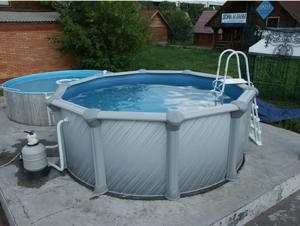 Бассейн Atlantic pool Гибралтар J-4000, размер 5,50х1,35 м купить в Уфе