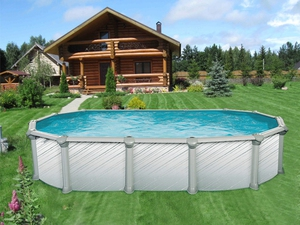 Бассейн Atlantic pool Гибралтар J-4000, размер 5,50х3,70х1,35 м купить в Уфе