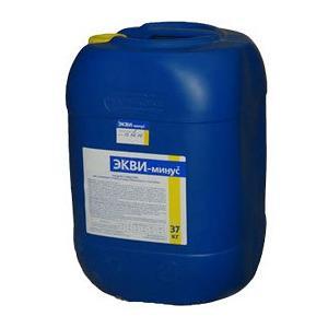 ЭКВИ-минус жидкий (рН-минус) 30л (37кг) купить в Уфе