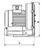 Компрессор HPE 1.3м/210 м3/ч 2.2 кВт 380В (HSCO315-1MT221-6) купить в Уфе