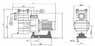 Насос с префильтром  58 м3/ч Kripsol Kapri KAP-350 3,3 кВт 380В купить в Уфе