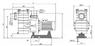 Насос с префильтром  40 м3/ч Kripsol Kapri KAP-250 2,3 кВт 380В купить в Уфе