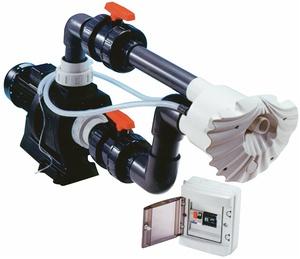 Противоток (50 м3/ч 2.3 кВт 380В) (плитка) HIDROJET JSH-40 (комплект) купить в Уфе