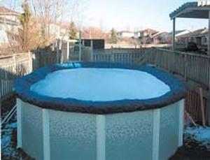 Покрывало брезентовое для бассейна Atlantic pool 7.3 (круг) купить в Уфе