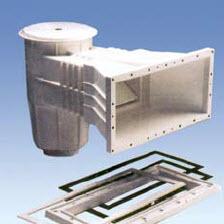 Скиммер под пленку IML с квадратной крышкой (А056) купить в Уфе