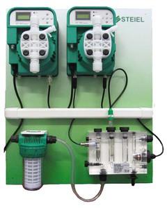 Станция дозирования и контроля  pH/Сl Steiel (PNL EF162 pH + EF163 CL) 10 л/ч купить в Уфе