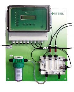 Станция дозирования и контроля  pH/Rx/T/Cl Steiel (PNL EF207 pH/Rx/T/CL)