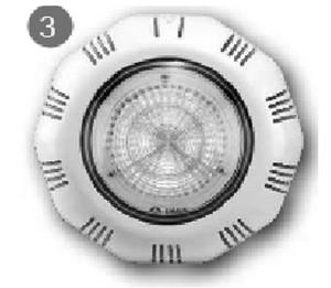 Прожектор светодиодный Emaux под плитку RGB (LEDTP-100) купить в Уфе